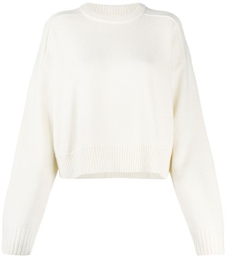 LOULOU STUDIO Cropped Knit Jumper
