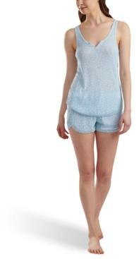 Splendid Printed Tank & Shorts Pajama Set
