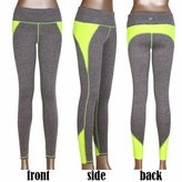 CFR Women Workout Yoga Pants Running Gym Crossfit Leggings Active Tights ,L&XL USPS Post