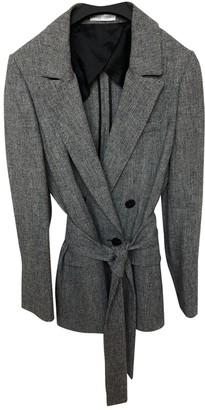 Barbara Casasola Grey Linen Jacket for Women