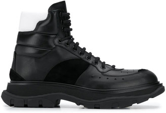 Alexander McQueen Leather Upper And Rubber Sole H. Boot