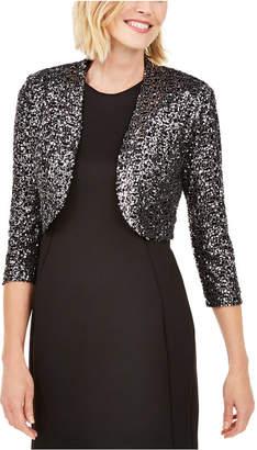Jessica Howard Sequined Bolero Jacket