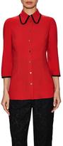 Dolce & Gabbana Woven Buttoned Shirt