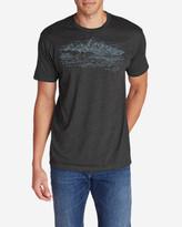 Eddie Bauer Men's Graphic T-Shirt - Sketched Tetons