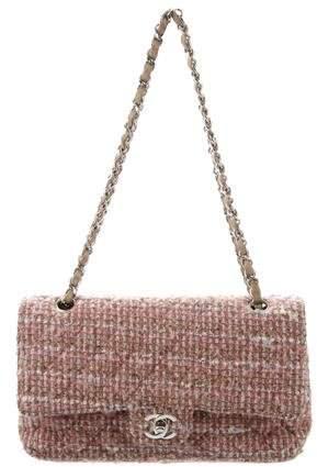 8cb90b5b2faa23 Tweed Flap Bag - ShopStyle