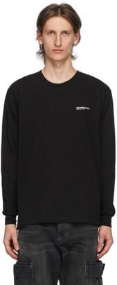 Neighborhood Black Logo Long Sleeve T-Shirt