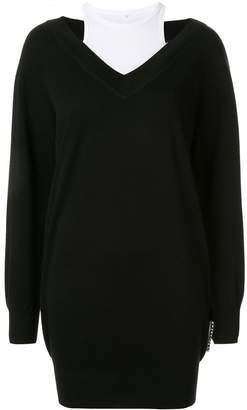 Alexander Wang layered sweater