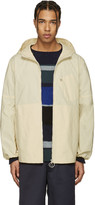 Acne Studios Ecru Canvas Motion Jacket