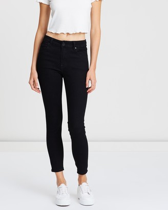 Cotton On Mid Rise Cropped Skinny Jean