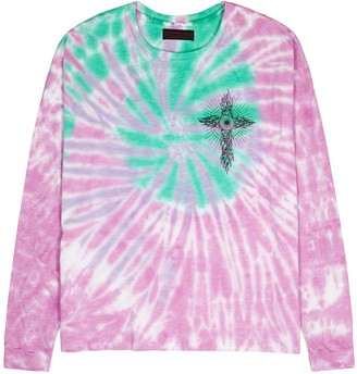 Siberia Hills Tie-dyed cotton top