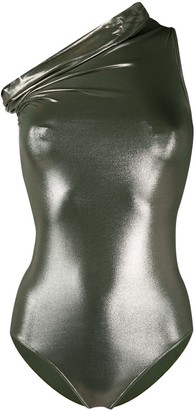 Rick Owens Off-The-Shoulder Swimsuit