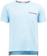Thom Browne pocket T-shirt - men - Cotton - 0