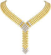 Carelle 18K Gold & Diamond Pixel Necklace