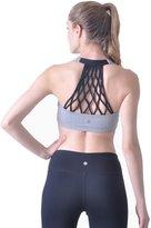 Queenie Ke Women's Support Hand-Knited Nest Back Sport Fast Lane Bra Size M Color