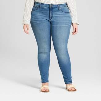 Universal Thread Women's Plus Size Jeggings Medium Wash