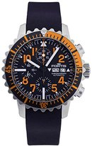 Fortis 671.19.49 K Mens Marinemaster Chronograph Chronograph Black Dial Automatic Watch