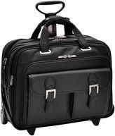 McKlein McKleinUSA Ceresola 15.6 Leather Checkpoint-Friendly Detachable -Wheeled Laptop Briefcase