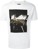 Les Hommes squares print T-shirt - men - Cotton - XL