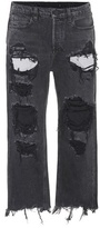 Alexander Wang Mid-rise distressed jeans
