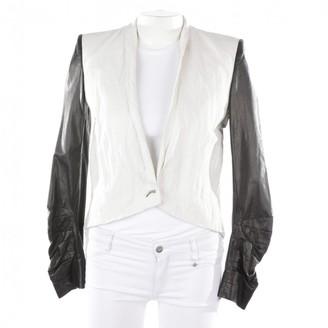 Helmut Lang White Linen Jackets