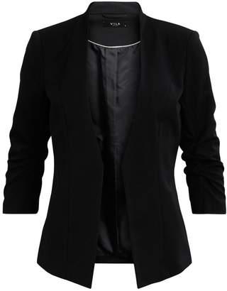 M&Co VILA ruched sleeve blazer