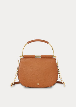 Ralph Lauren Mini Leather Round Satchel