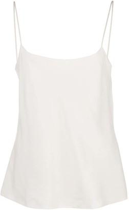 The Row Biggins low neckline camisole top