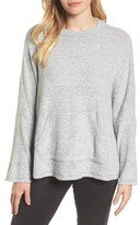 Caslon Women's Cozy Split Back Pullover