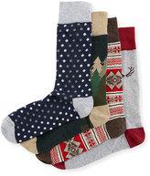 Neiman Marcus Antler Socks Gift Set