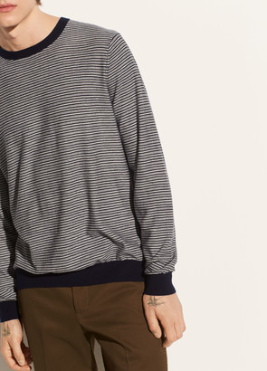 Vince Striped Wool Crew