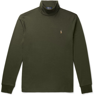 Polo Ralph Lauren Pima Cotton-Jersey Rollneck Sweater