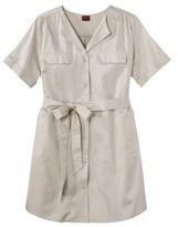 Merona Women's Plus-Size Sateen Shirt Dress - Assorted Colors