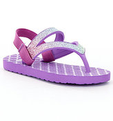 Sanuk Girls' Lil Selene Crystal Sandals