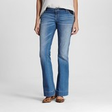 Maternity Inset Under the Belly Medium Wash Flare Jeans - Liz Lange® for Target