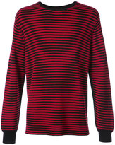 Ovadia & Sons striped crew neck sweater