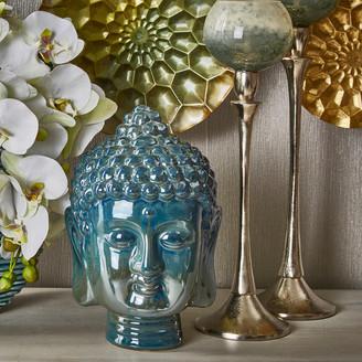 Sagebrook Home Buddha, Blue