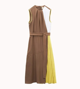 Tod's Dress with Inserts in Leather
