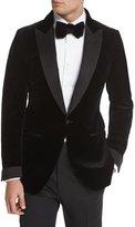 Tom Ford Buckley Base Peak-Lapel Tuxedo Jacket, Black