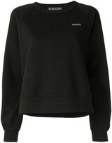 Monogram Bullshit slogan sweater