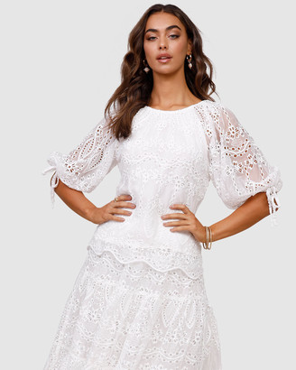 Ministry Of Style Splendour Embroidery Top