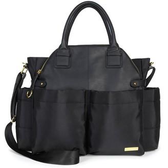 Skip Hop Chelsea Downtown Chic Diaper Bag Satchel Black