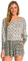 Lucy-Love Lucy Love Moon Shadow Rose Bowl Romper 8142353