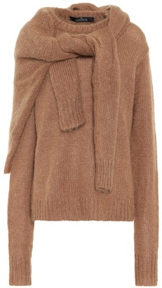 Rokh Wool and mohair-blend sweater