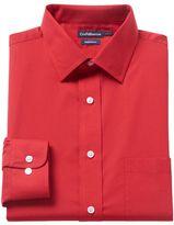 Croft & Barrow Men's Slim-Fit Broadcloth Spread-Collar Dress Shirt
