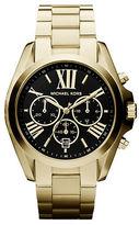 Michael Kors Bradshaw Chronograph Goldtone IP Stainless Steel Bracelet Watch