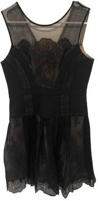 BCBGMAXAZRIA Black Lace Dress for Women