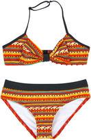 Junior Gaultier Printed bikini