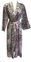 Sock Snob Womens Quality Satin Slinky Wrap, Robe, Dressing Gown in many Colours.