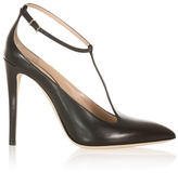 Emporio Armani T-Bar High Heel Pumps