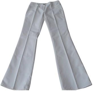 Barbara Bui White Cotton Jeans for Women